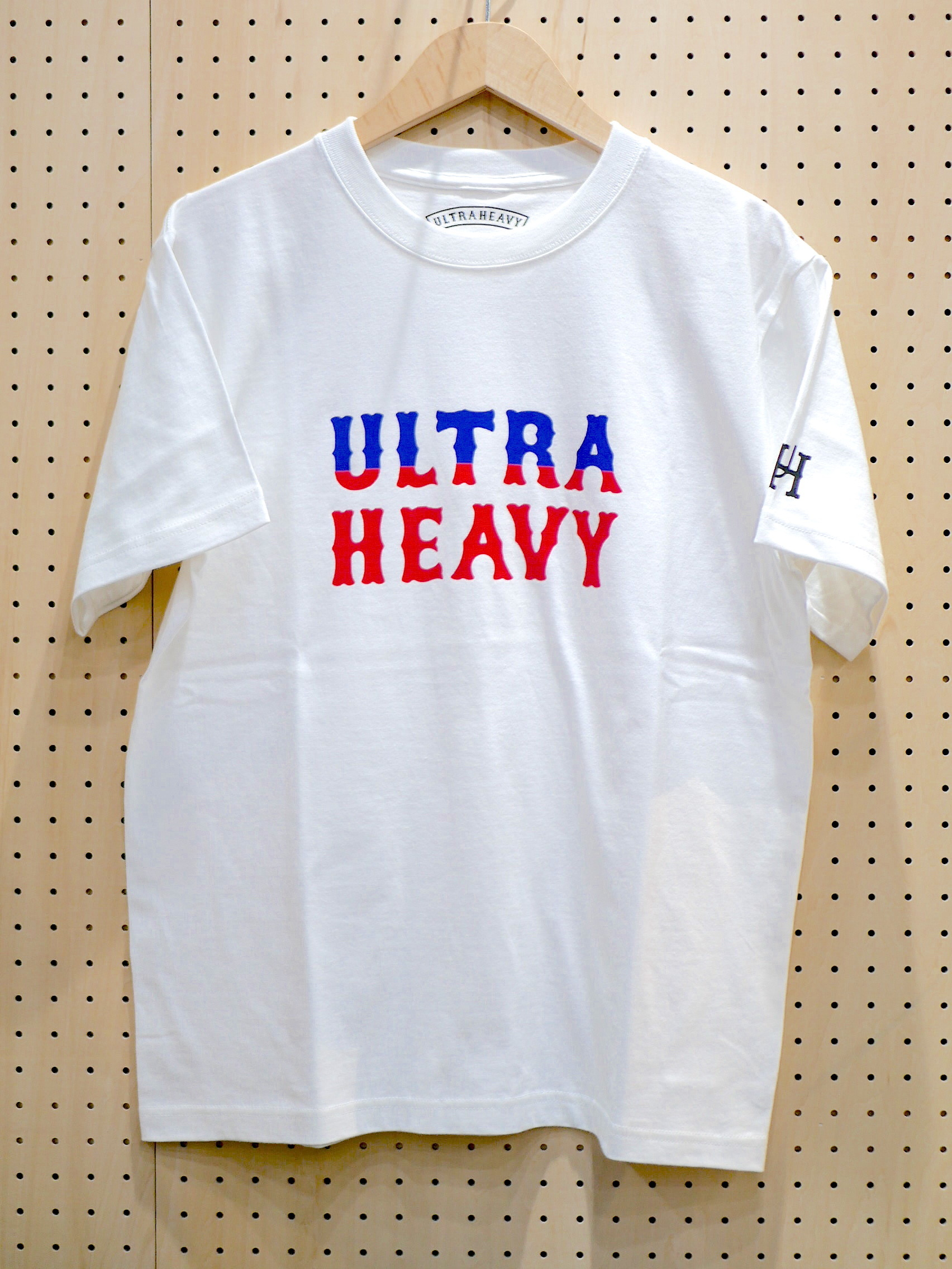 U.H. / HEAVY-WEIGHT TEE(LOGO)