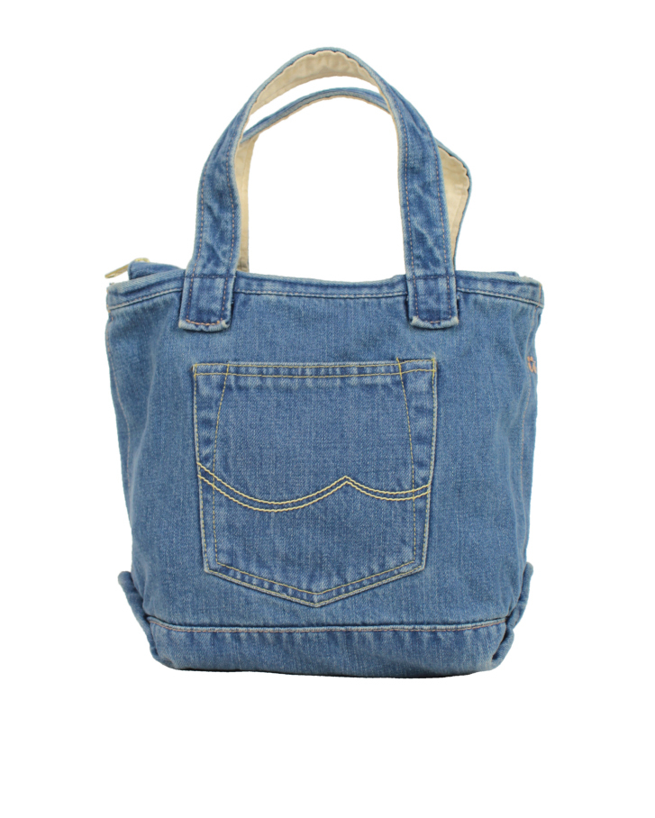 denim tote small Lot:90004 - 画像1