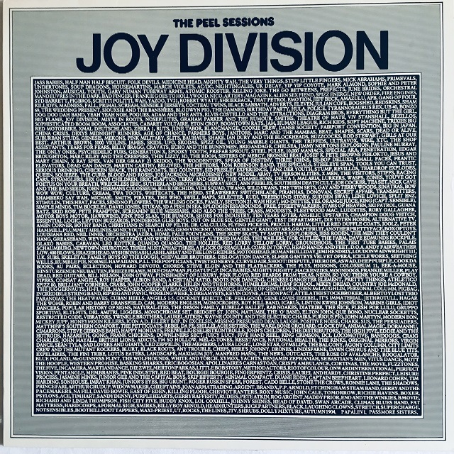 【12inch・英盤】Joy Division  /  The Peel Sessions