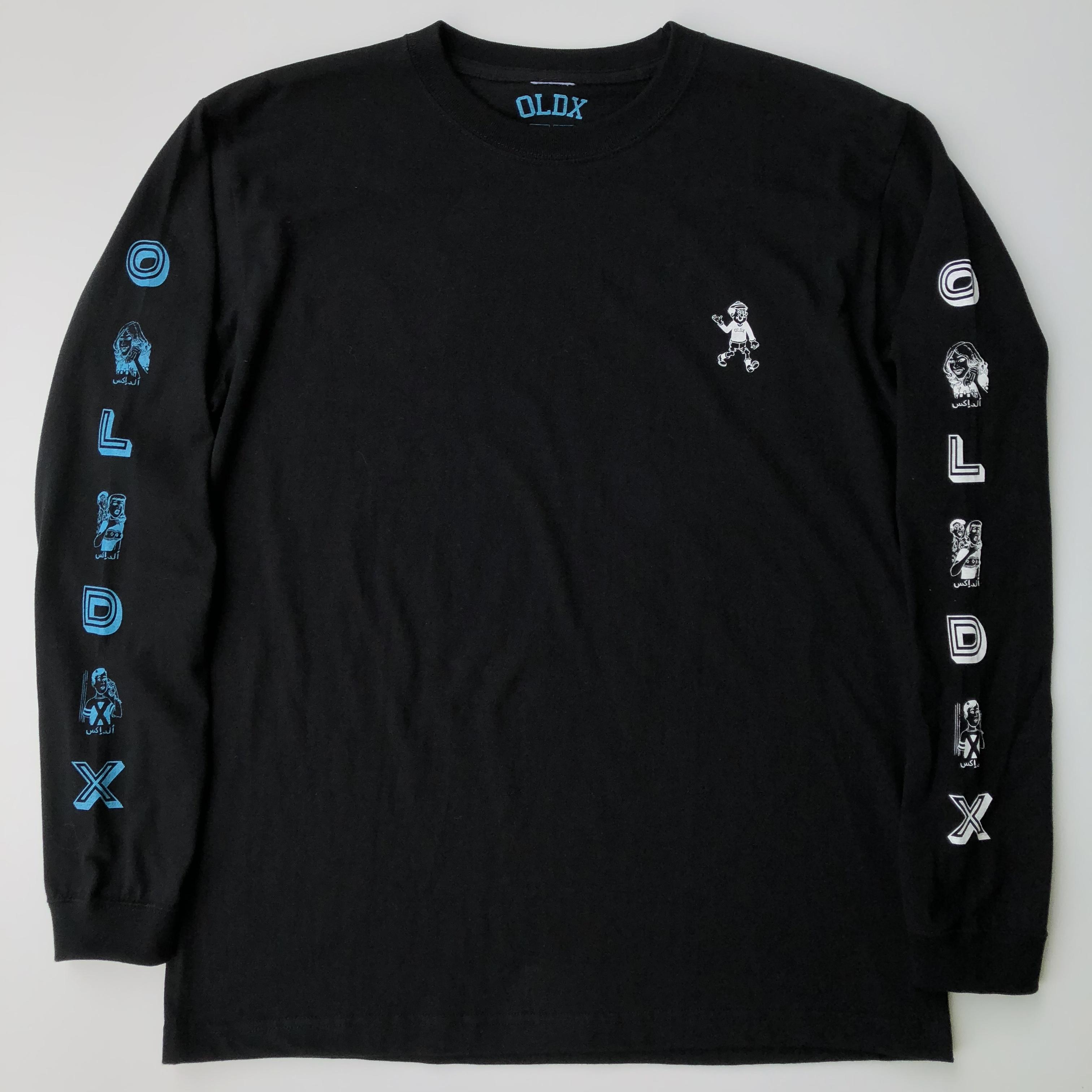 Call me long sleeve T-shirts BLACK