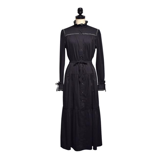 SABINA MUSAYEV / CHARLOT DRESS / Black