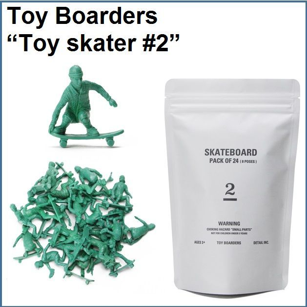 """Toy Boarders """"Toy skater #2"""""""