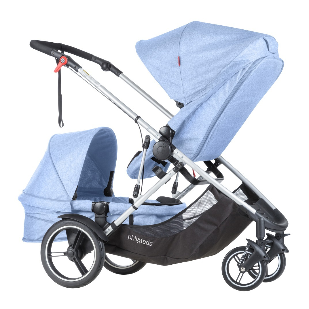 phil&teds voyager buggy Blue Marl フィルアンドテッズ ボイジャー