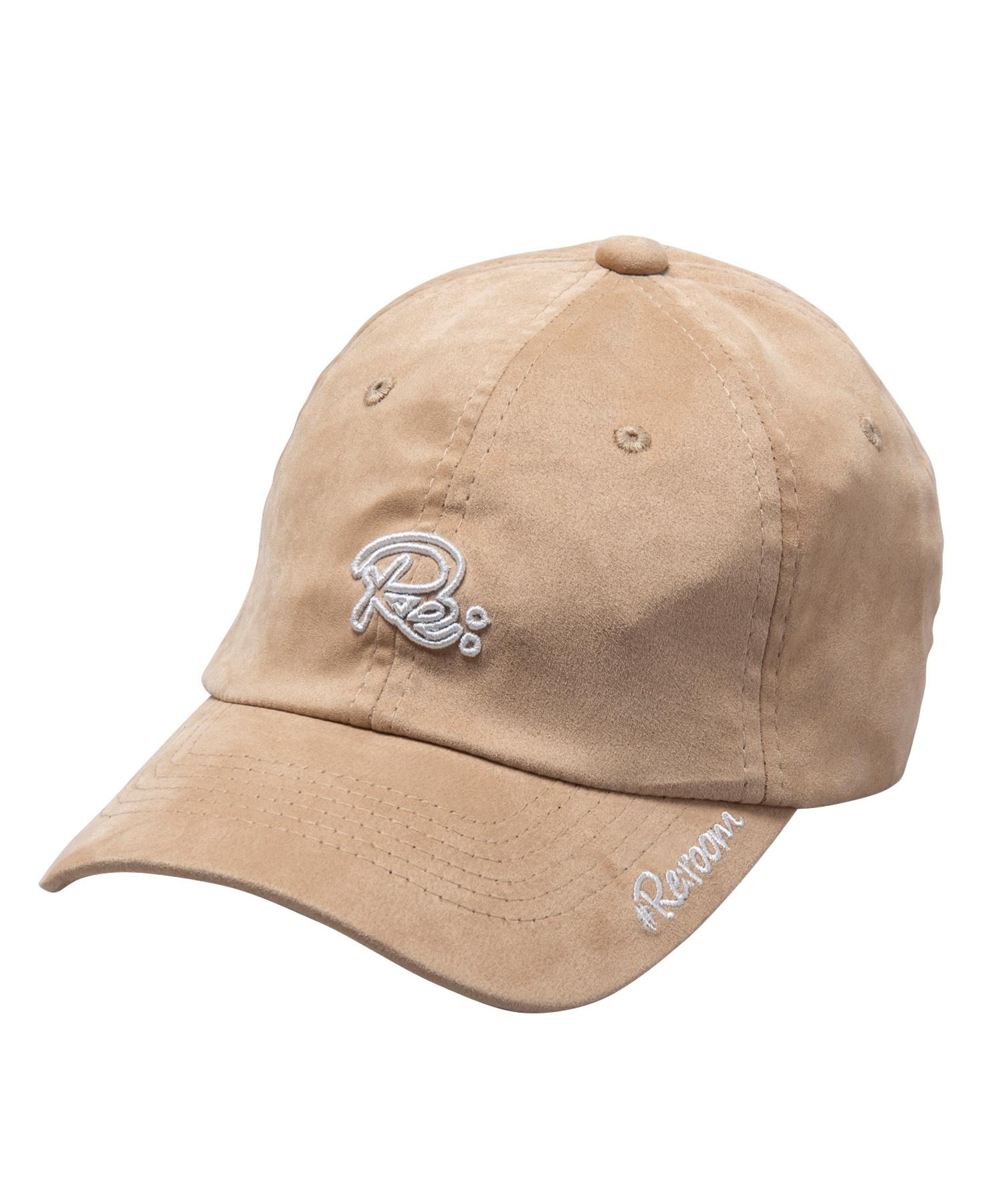 Re LOGO SUEDE CAP[REH066]