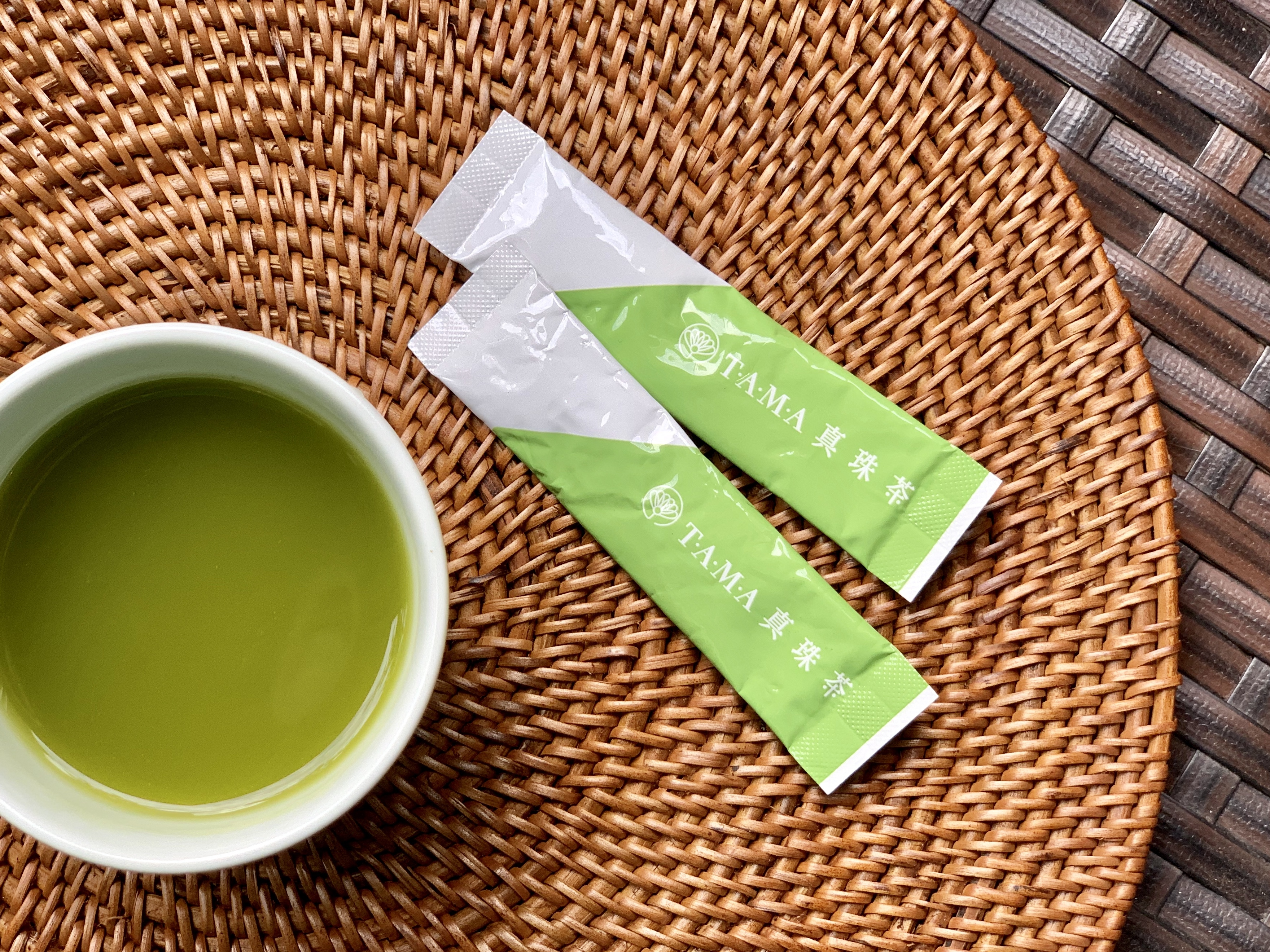 【送料無料】只今新茶!TAMA  真珠茶  (1g×7袋)