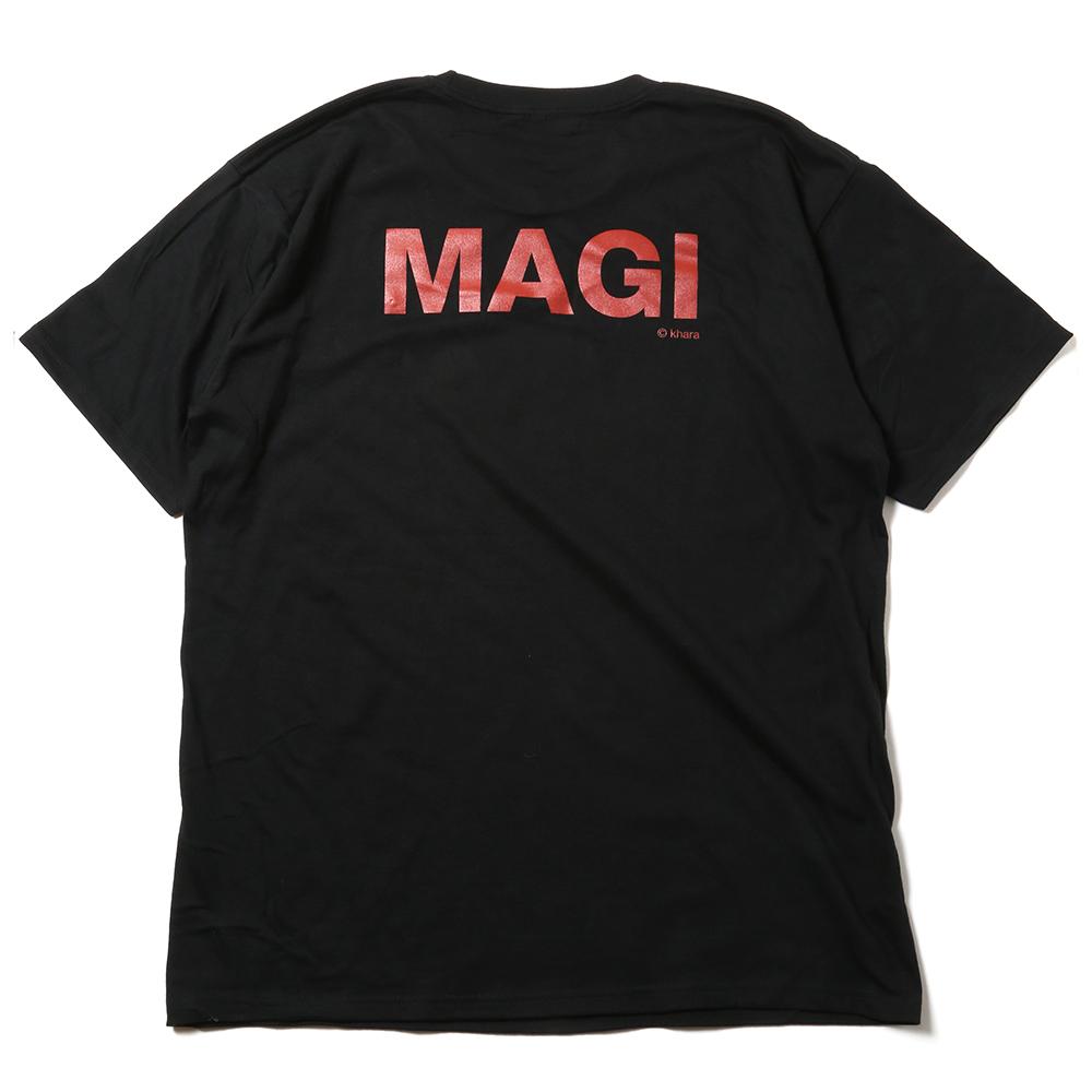 MAGI SYSTEM BIG T-Shirt (MELCHIOR(ブラック)) / RADIO EVA