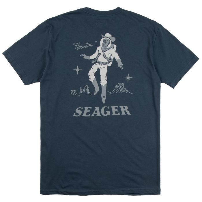 SEAGER #Space Cowboy Tee Indigo
