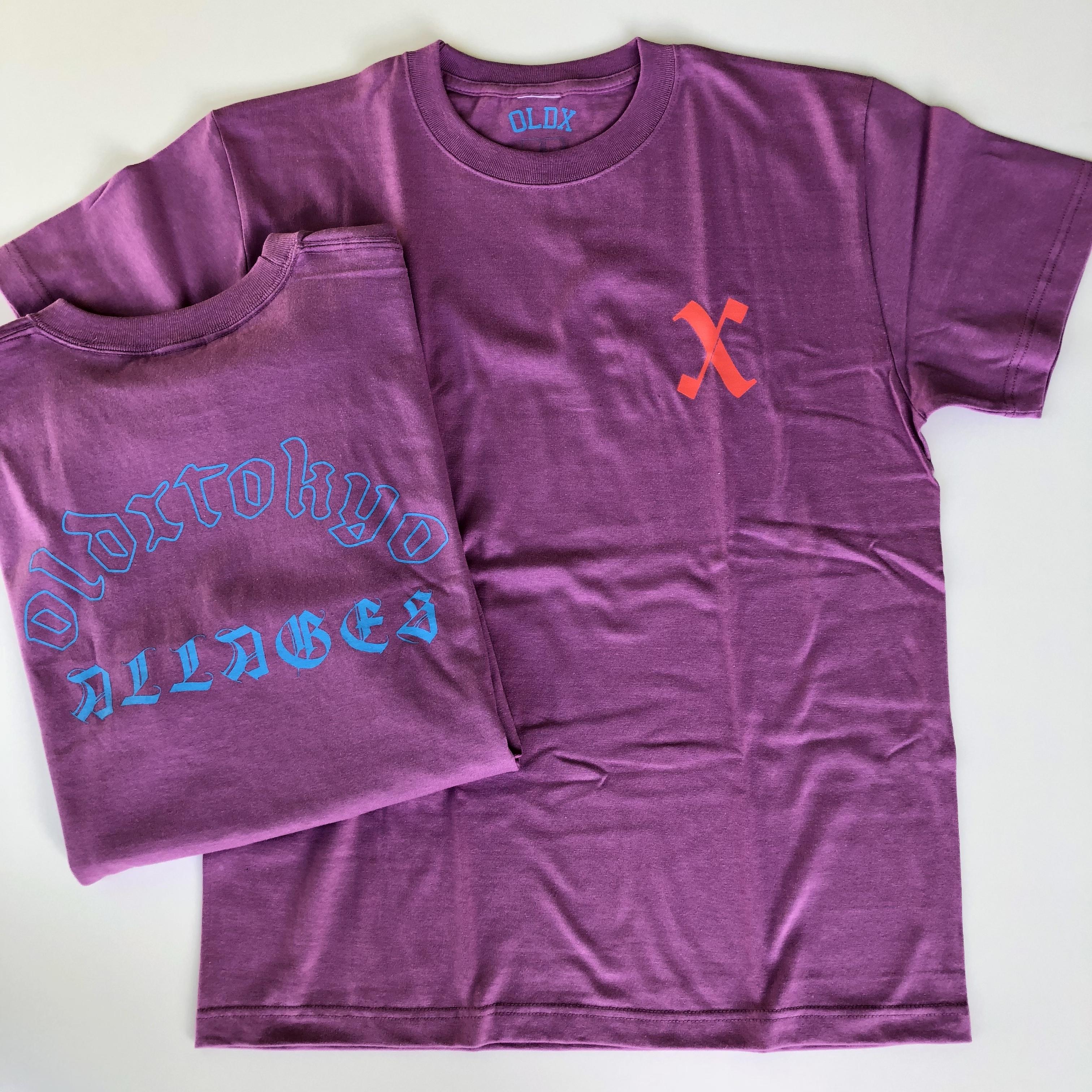 T.A T-shirts PURPLE