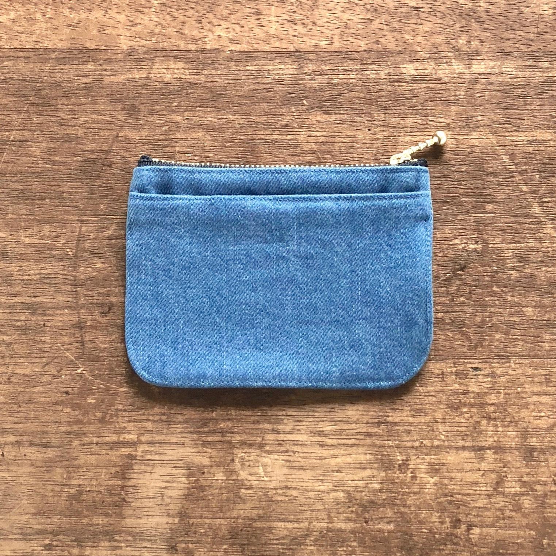 mini財布《 デニム 》