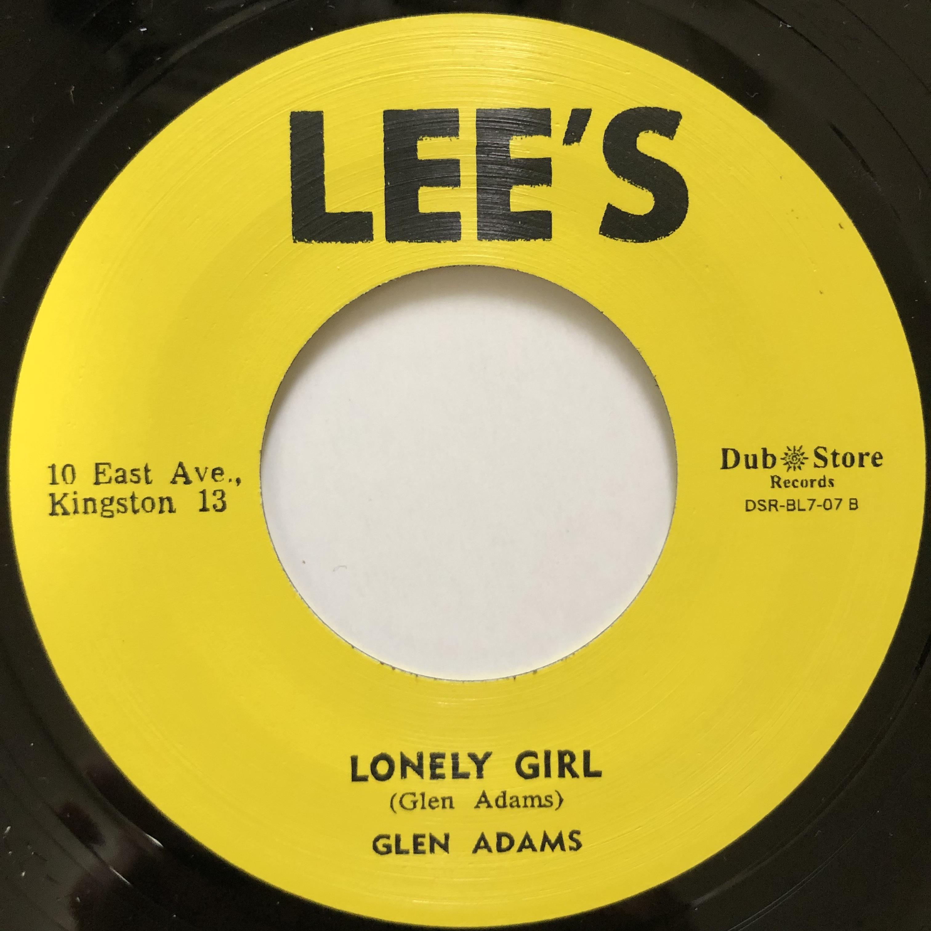 Glen Adams - Lonely Girl【7-20539】