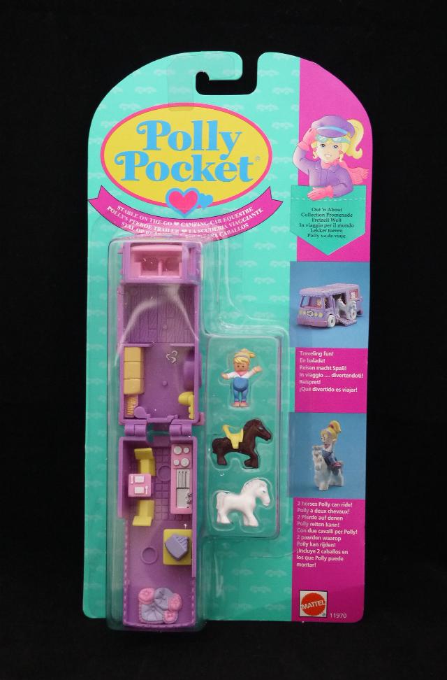 ポーリーポケット ポニーキャラバン 1994年 新品