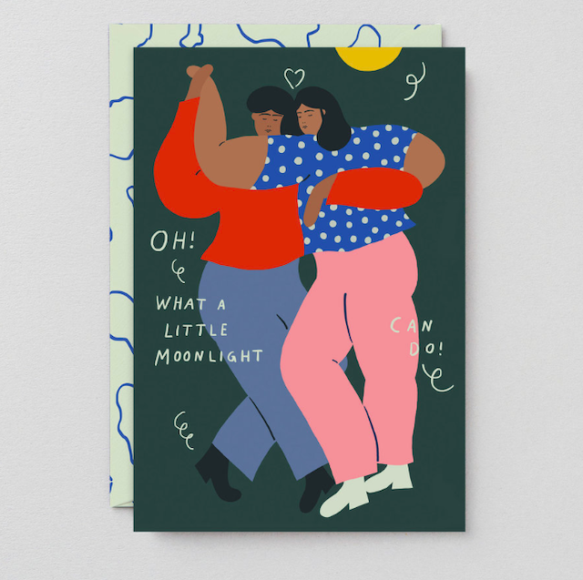 WRAP / DANCERS ART CARD -Artwork by Karl-Joel Larsson- アートカード