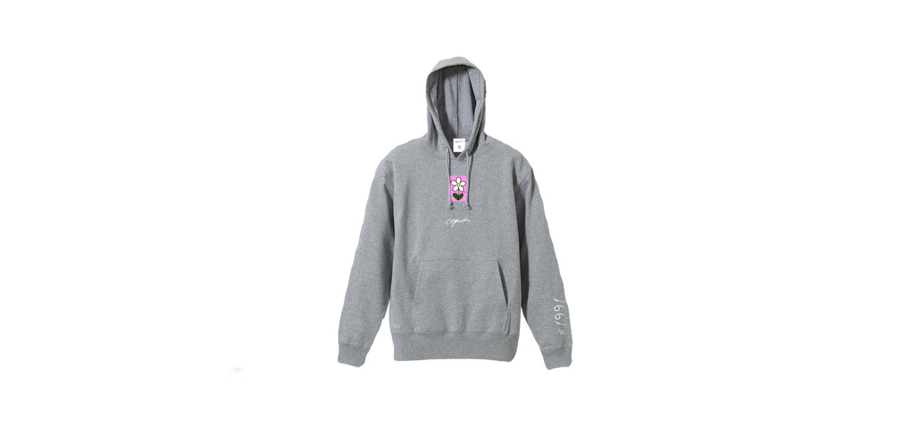 coguchi flower hoodie (GRY)