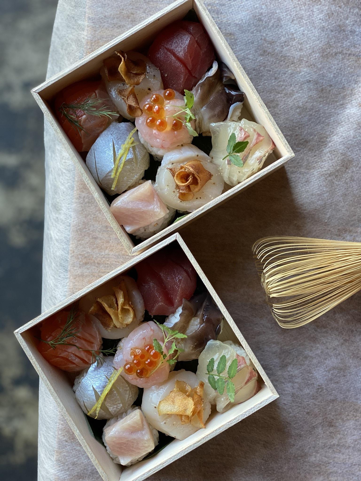 手毬寿司9個入 発送×