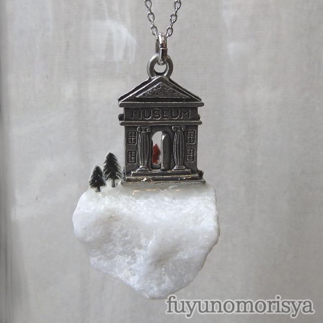 ネックレス - 自然史博物館 - フユノモリ社 - no26-fuy-06