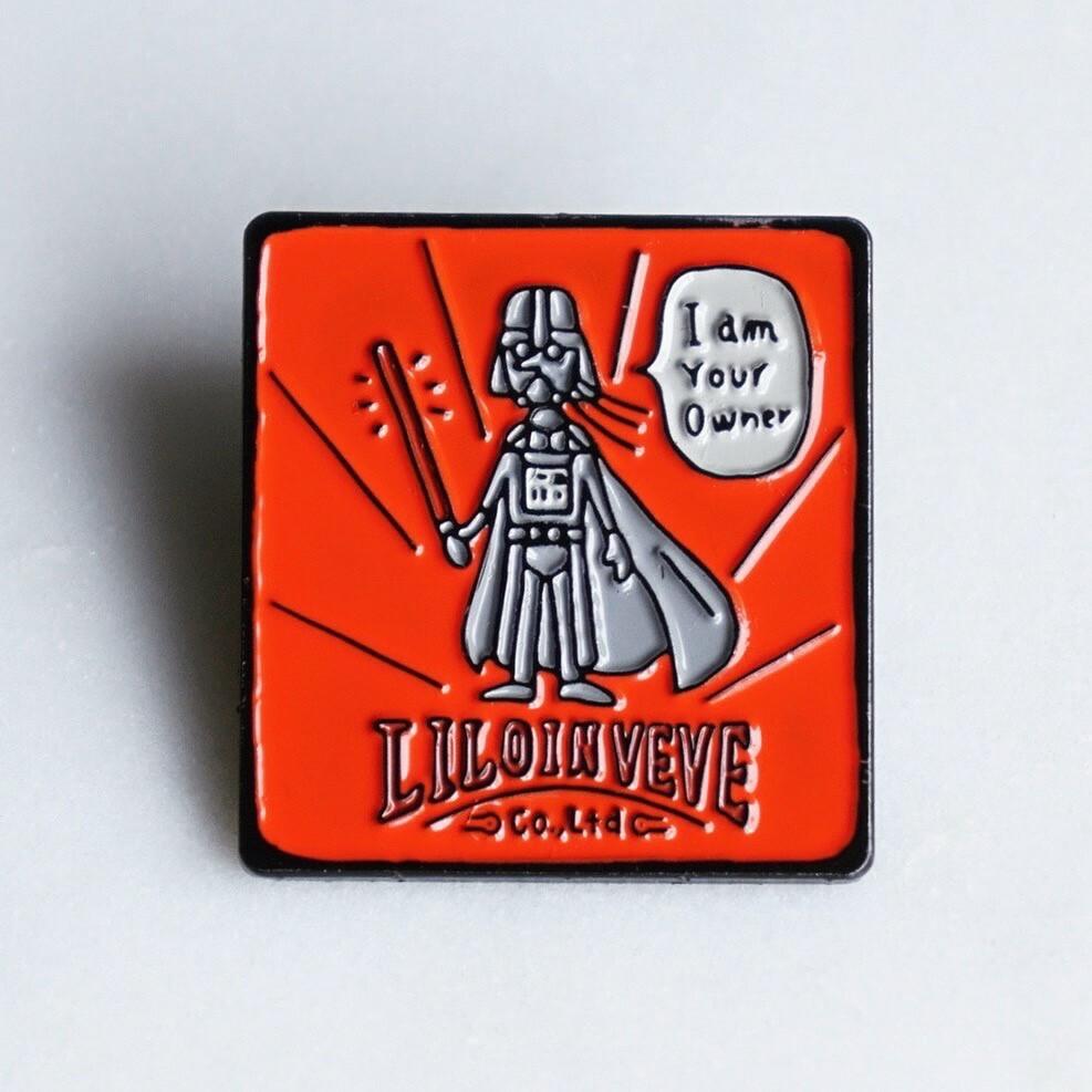 Pin Badge【Vader】