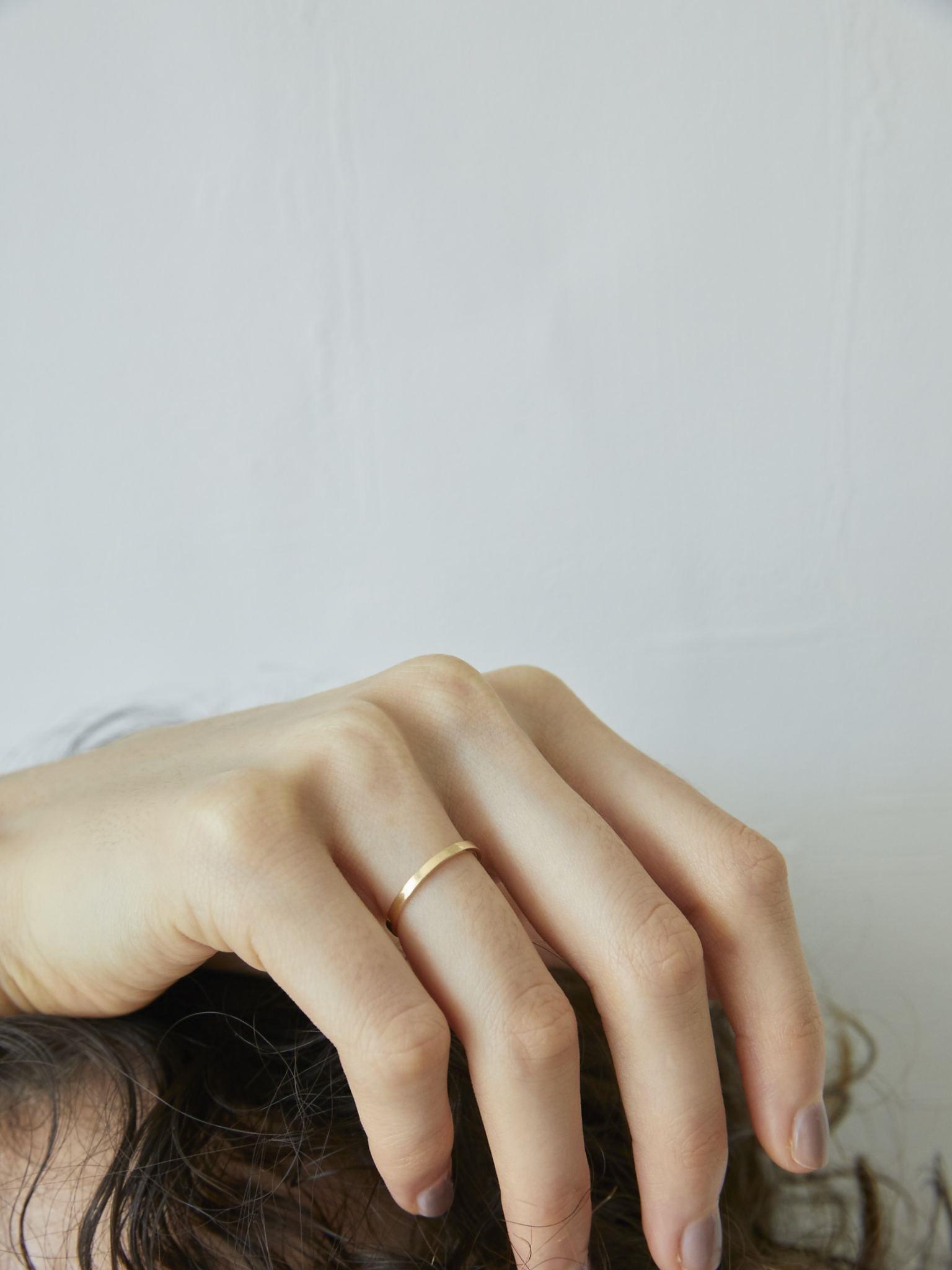 classic K18 ring (#1/3/5)