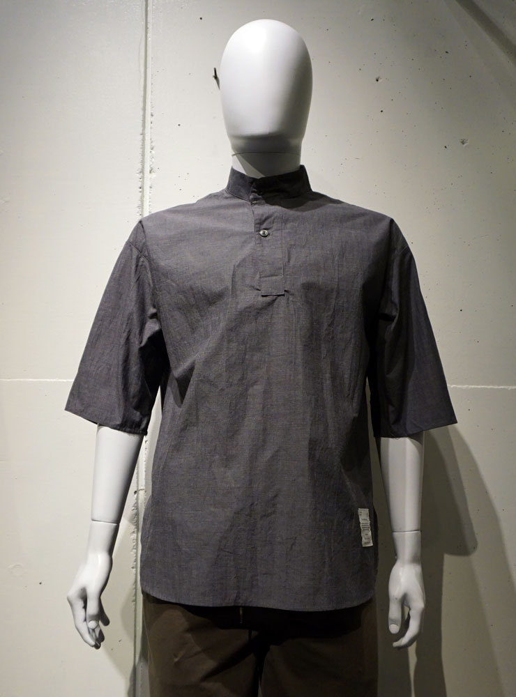 POETRY OF BIRDS Loose Fit P/O チャコール
