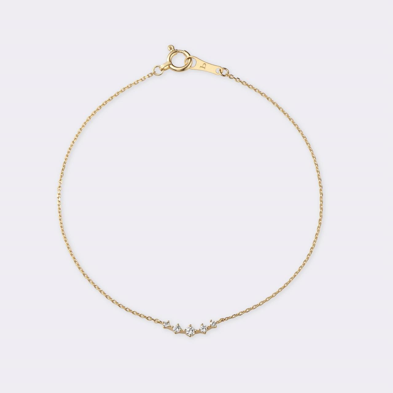 Fleur Bracelet K18YG( フルールブレスレット K18イエローゴールド)