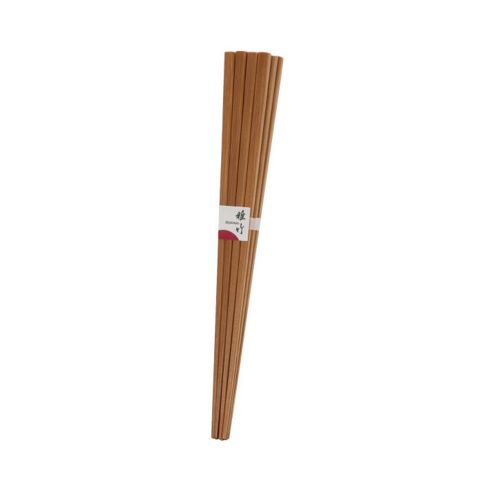 すす竹飯箸6膳組 【45-021】