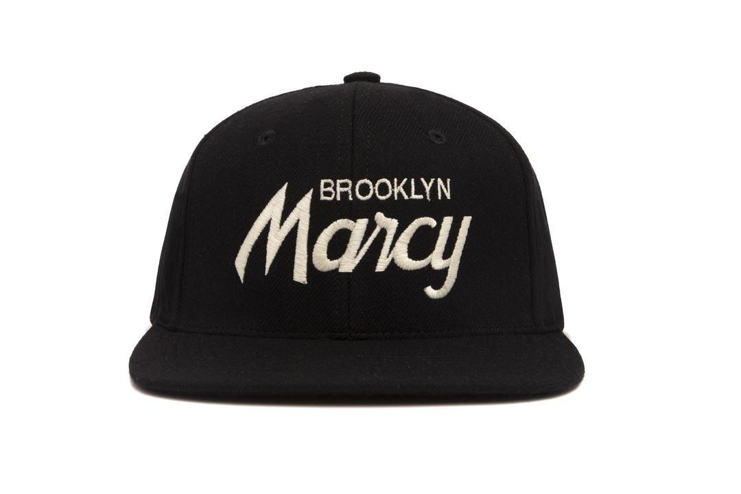 "HOOD®︎ ""BROOKLYN Marcy"" CAP BLACK"