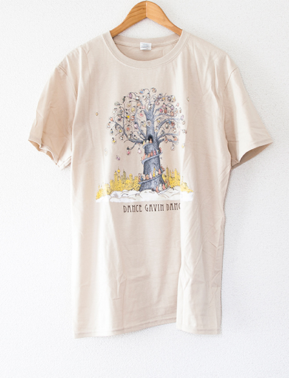 【DANCE GAVIN DANCE】Artificial Selection Tree T-Shirts (Tan)