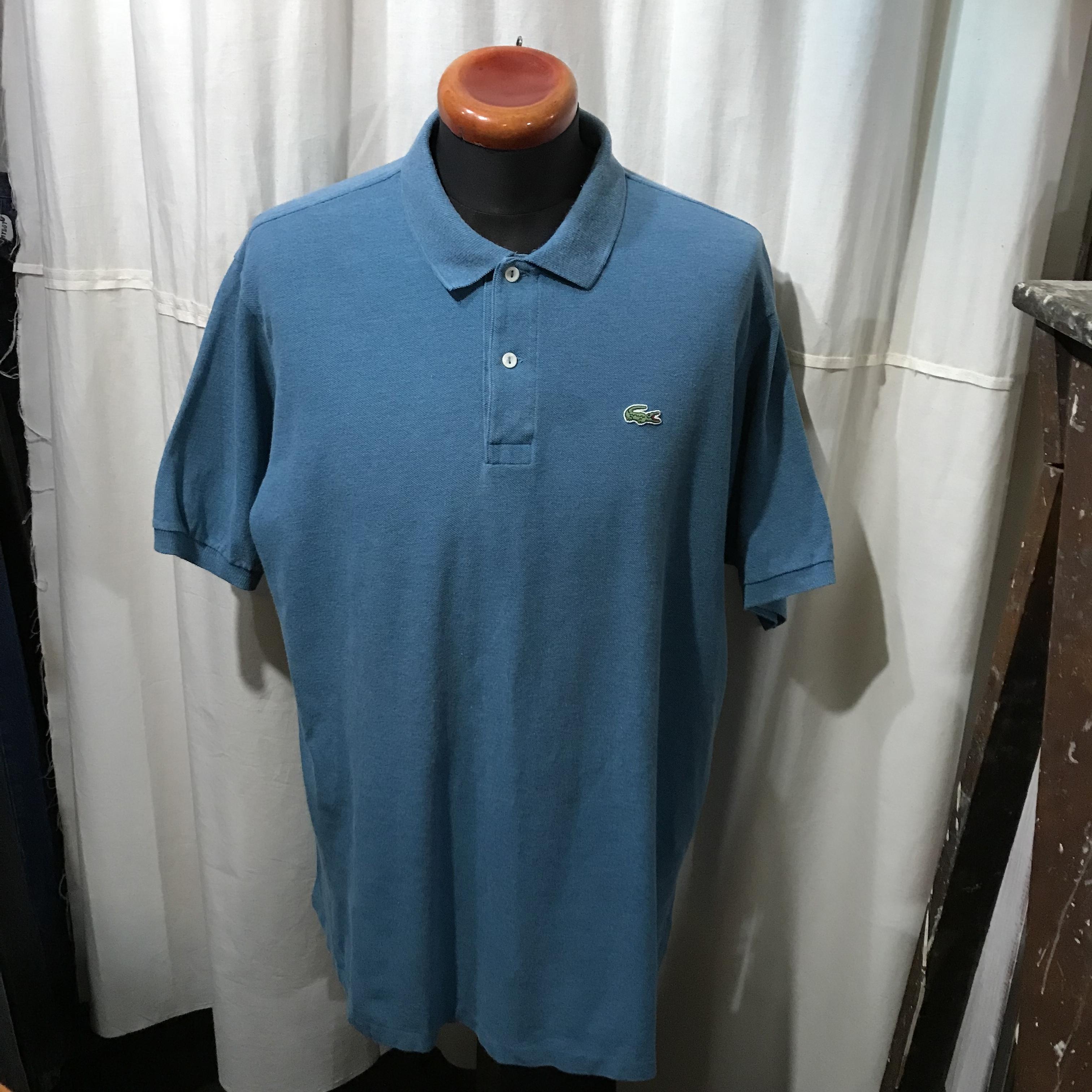 フランス製 LACOSTE 半袖ポロシャツ フレンチラコ メンズL~XL