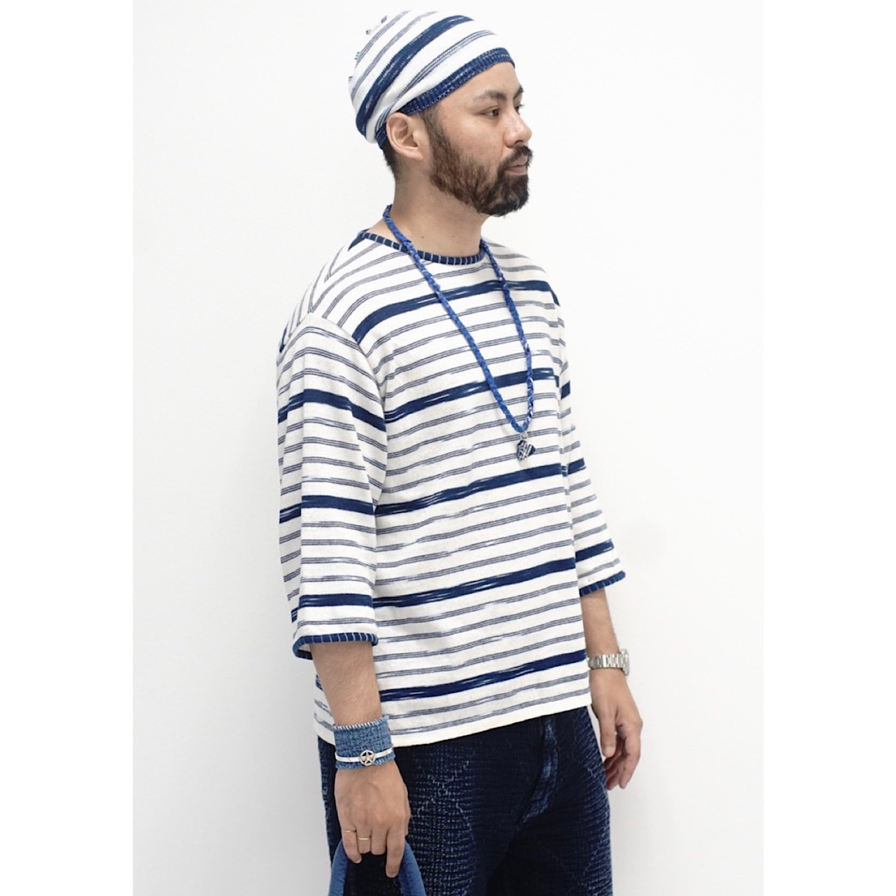 KASURI KNIT LONG SLEEVE SHIRT