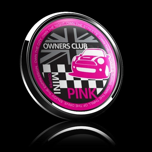 ゴーバッジ(ドーム)(CD0380 - MINI OWNERSCLUB PINK) - 画像2