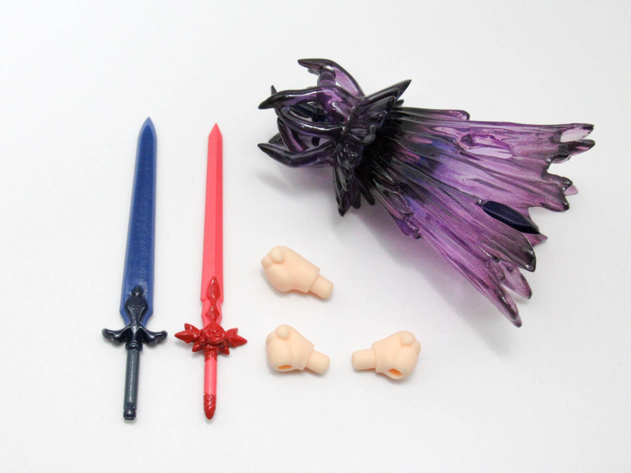 【1138】 キリト 上級修剣士Ver. 小物パーツ 剣とエフェクト ねんどろいど