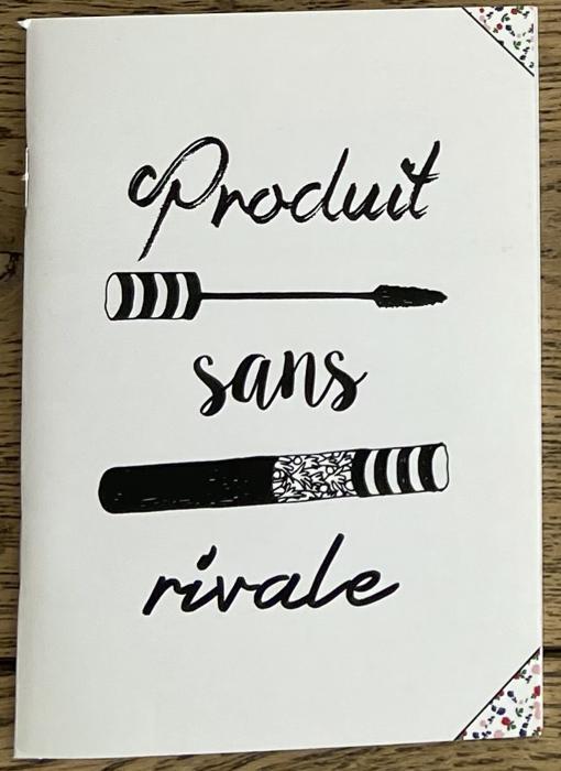限定1点!フランス小物:ノート『PRODUIT SANS RIVALE』