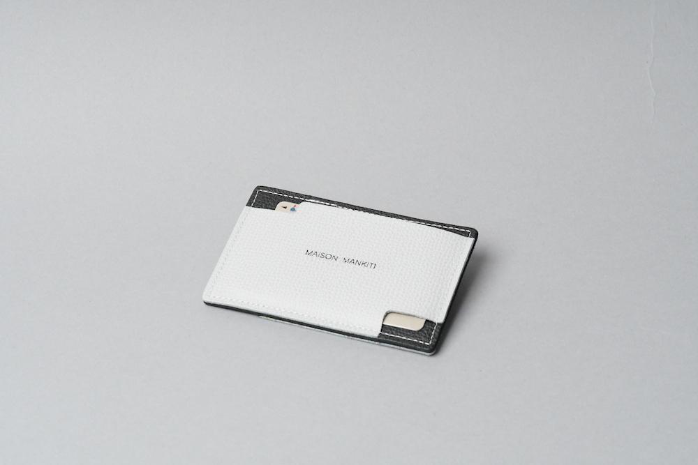 パスケース ◻︎ライトグレー・ブラック◻︎ - 画像4