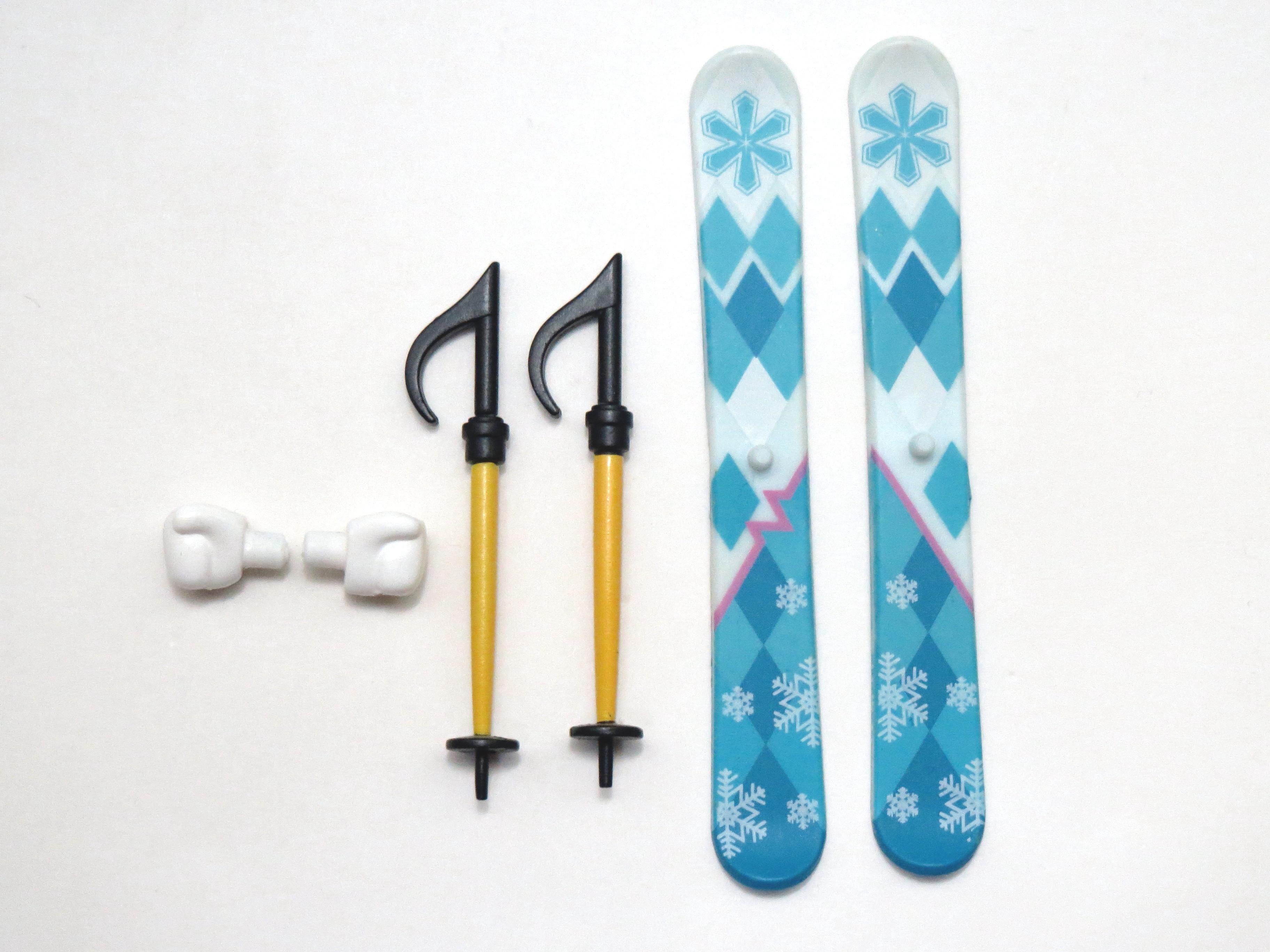 再入荷【570】 雪ミク Snow Owl Ver. 小物パーツ スキー板とストック ねんどろいど