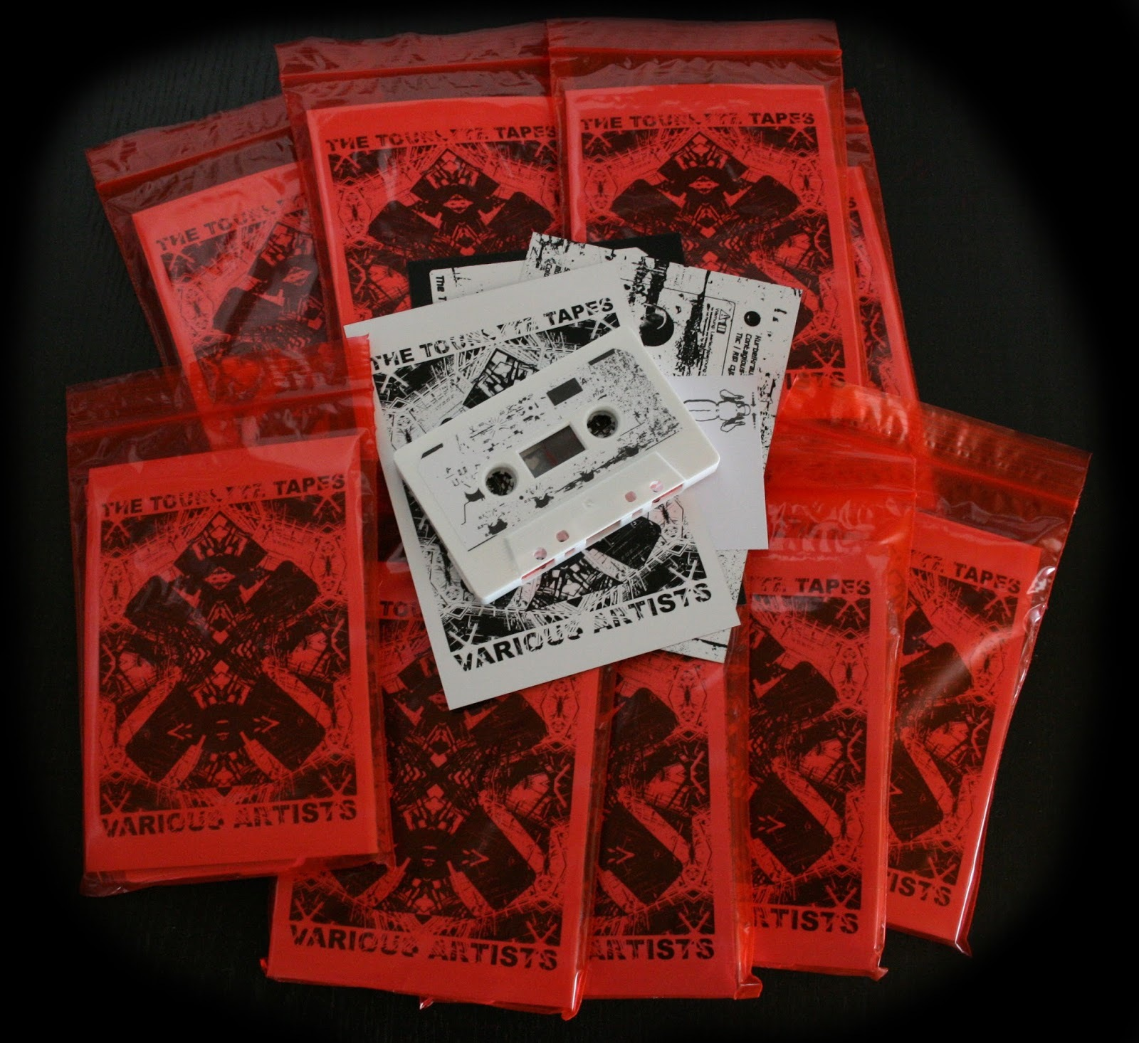 V/A - The Tourette Tapes  cassette - 画像1