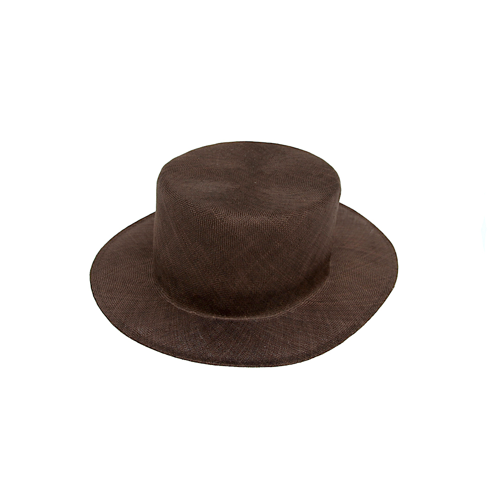 BROWN by 2-tacs / ROUND TAIL HAT