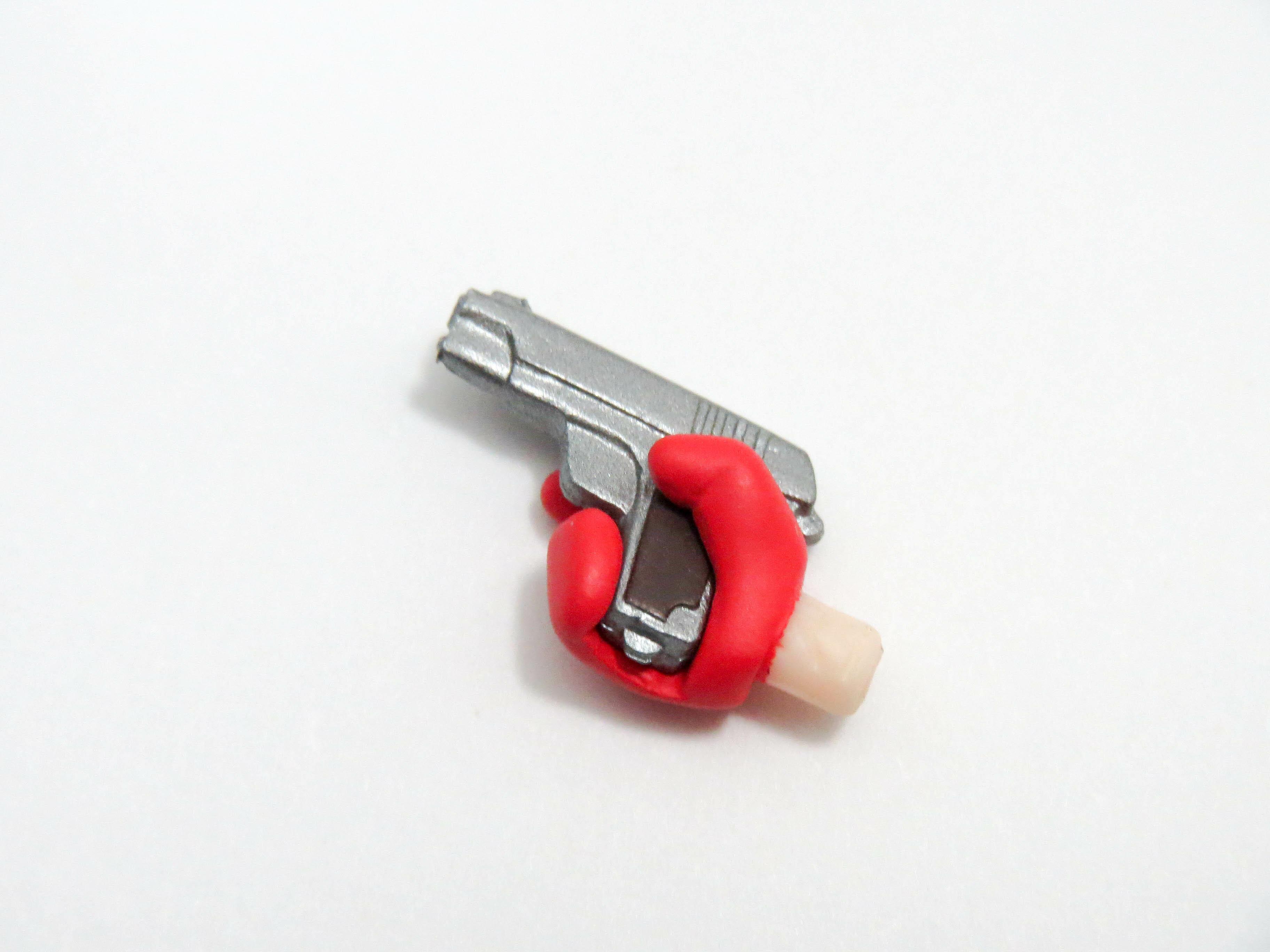 再入荷【989】 ジョーカー 小物パーツ 銃 ねんどろいど