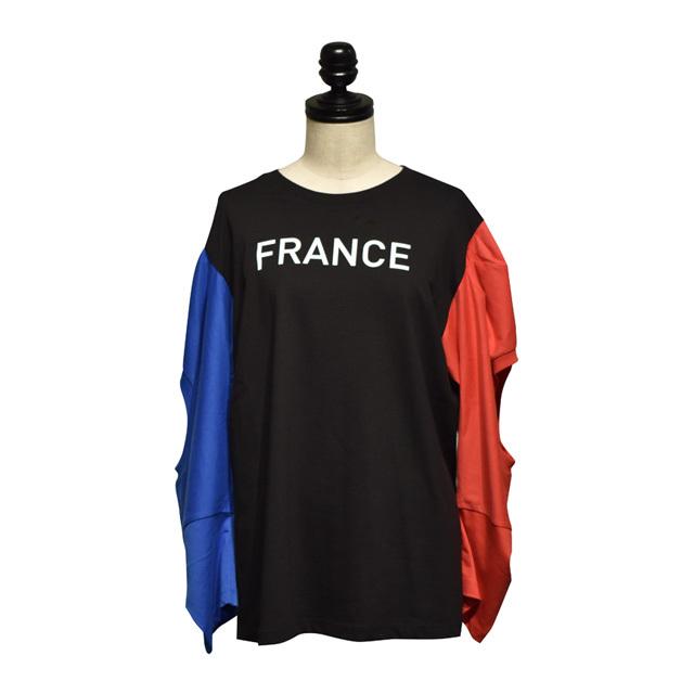 INFANANYMOUS / France T-shirt / Black Tricolor
