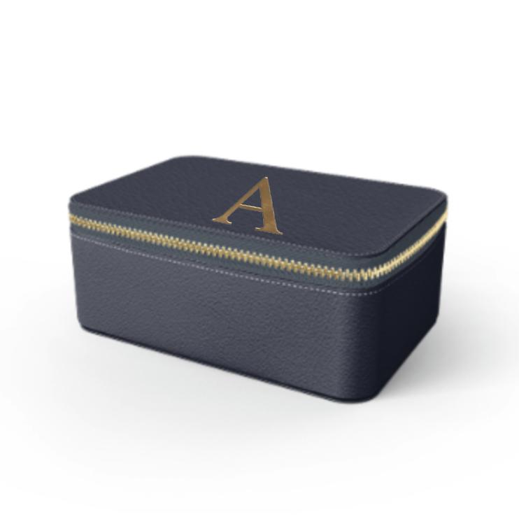 Box Premium Smooth Leather Case (Midnight Blue)