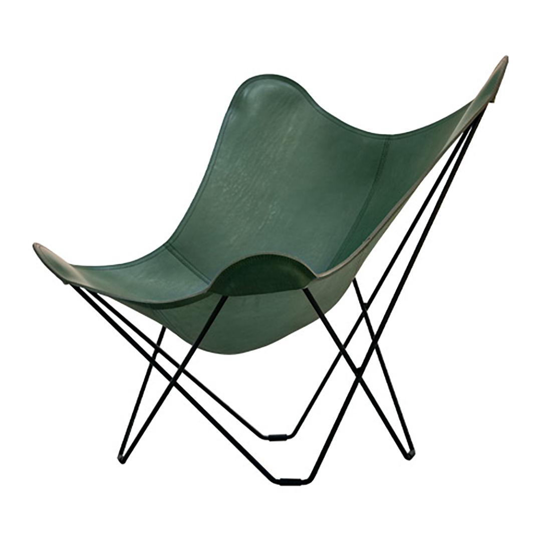 cuero BKF Chair バタフライチェア Green leather[今だけPILLOWプレゼント]