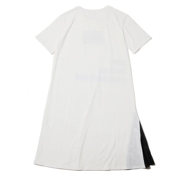 【FLOWER by RADIO EVA 024】NERV Box and Lettering Dress WHITE /  EVANGELION エヴァンゲリオン