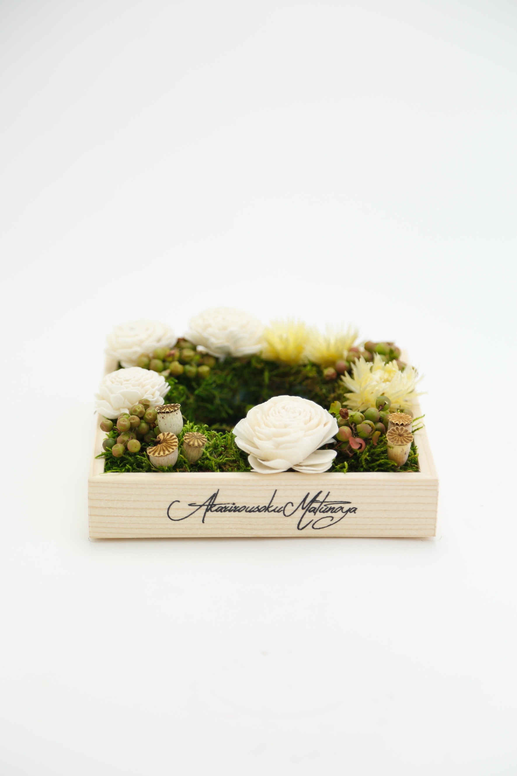 No.217 flower candle stand | gift box 5700
