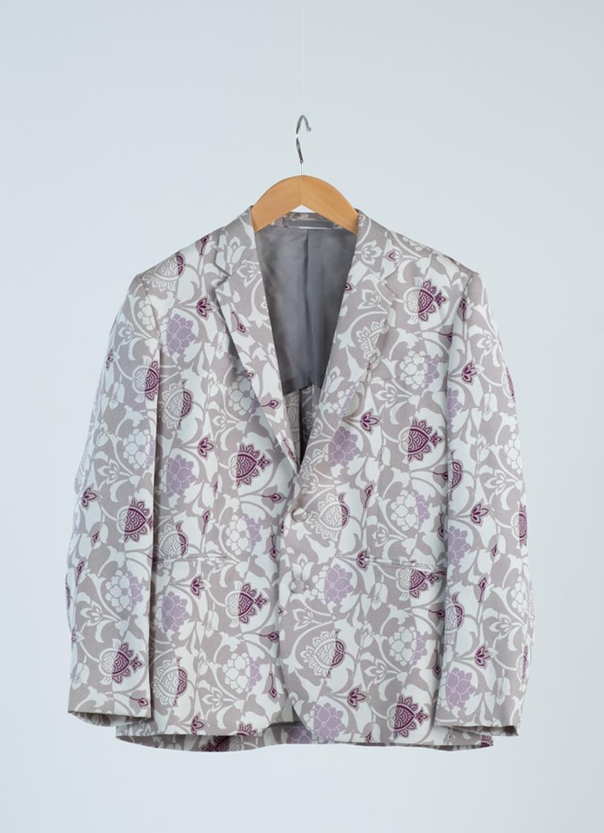 アジアンテイスト ジャケット 着物 正絹製