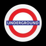 ゴーバッジ(ドーム)(CD1067 - LONDON UNDERGROUND) - 画像1