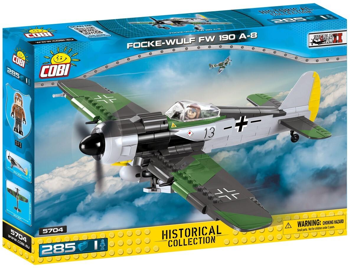 COBI #5704 フォッケウルフ FW 190 A-8
