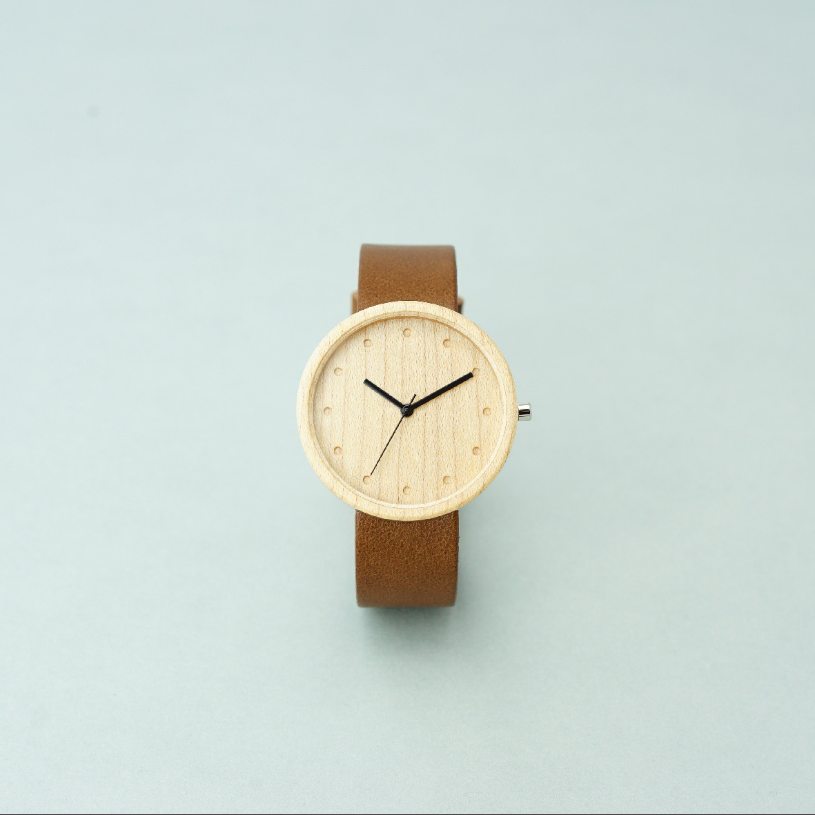 Maple wood - Dark Brown - L