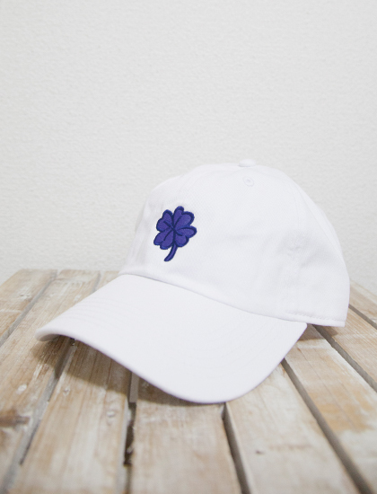 【WATERPARKS】Clover Dad Hat (White)