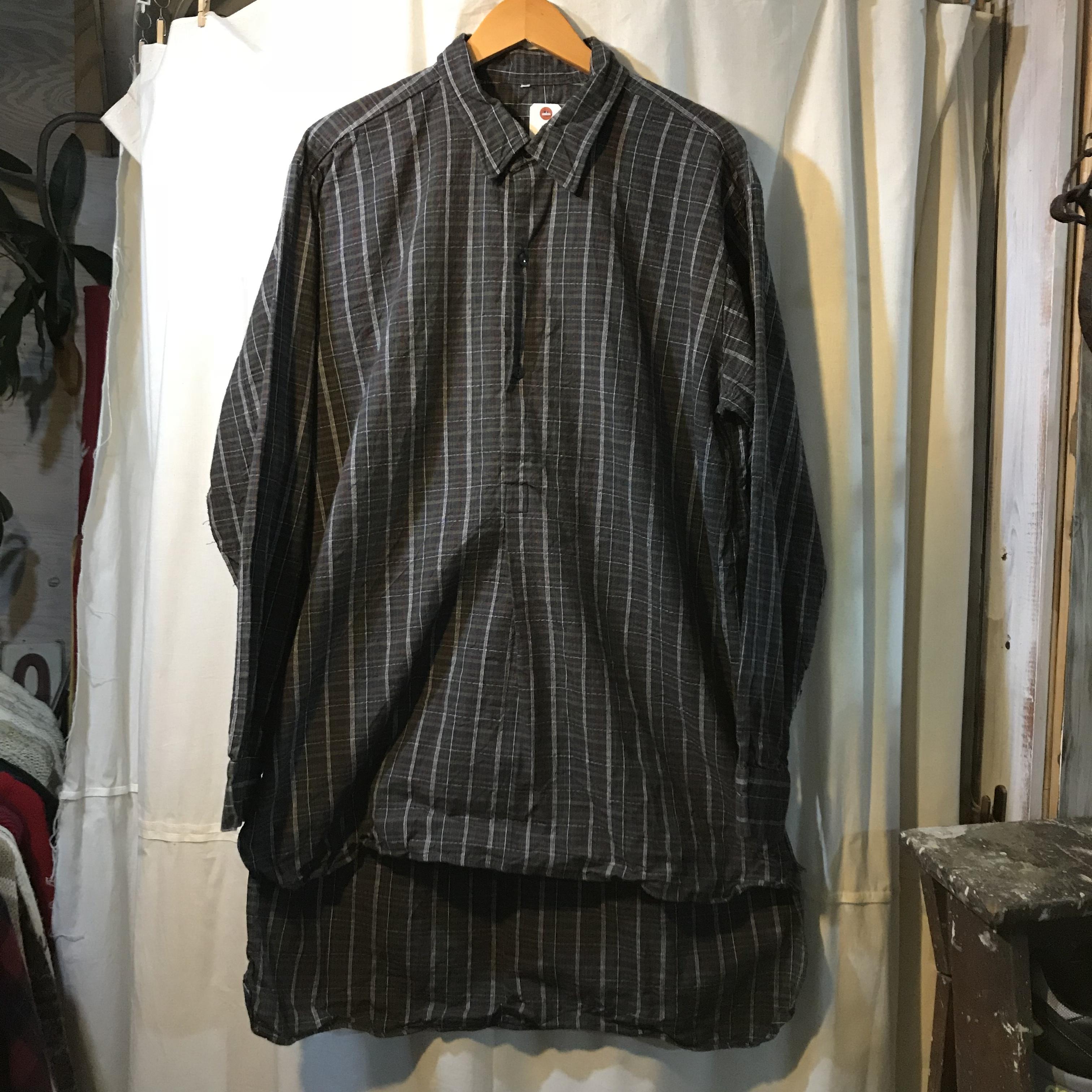 ユーロ グランドファザーシャツ グランパシャツ メンズL~XL