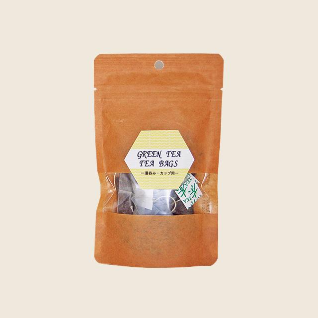 新茶ティーバッグ(2gタグ付 × 10個 湯呑用)