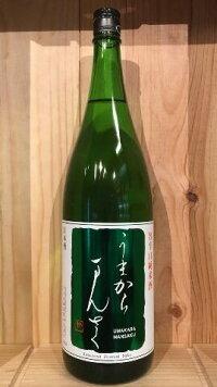 【まんさくの花】特別純米 うまからまんさく 1800ml