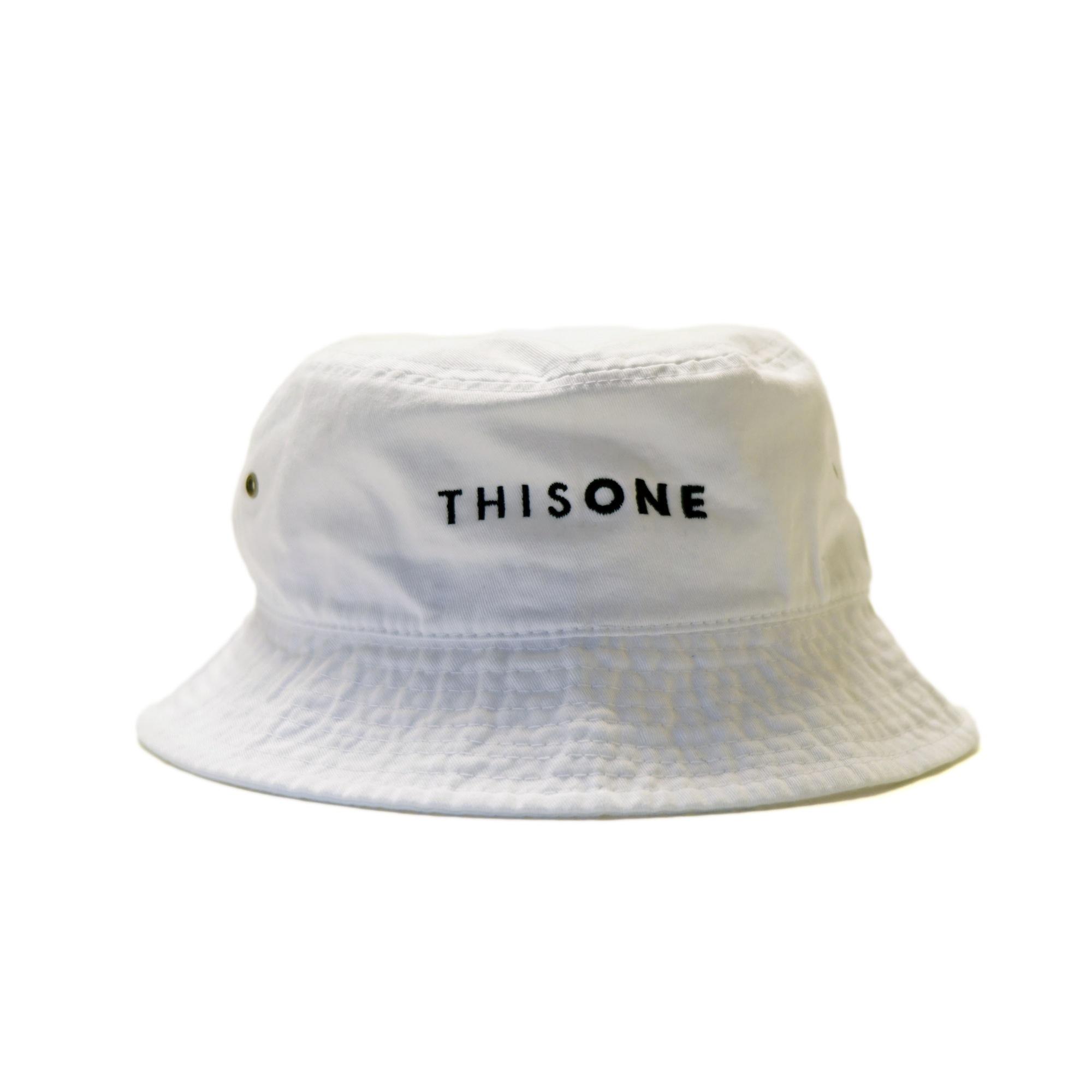 THISONE BUCKET HAT (WHITE)